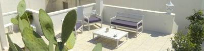 Terrazza attrezzata - bed & breakfast, camere, Otranto