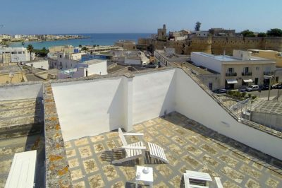 Terrazza sul mare - Vista panoramica Otranto - roof garden with view to the sea